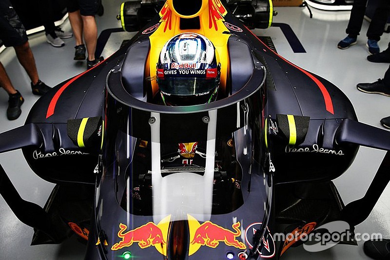 In Russland: Red Bull Racing will neuen Formel-1-Cockpitschutz testen