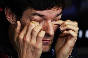 Formula 1 Son dakika Webber yapay yağmur fikrine karşı çıktı