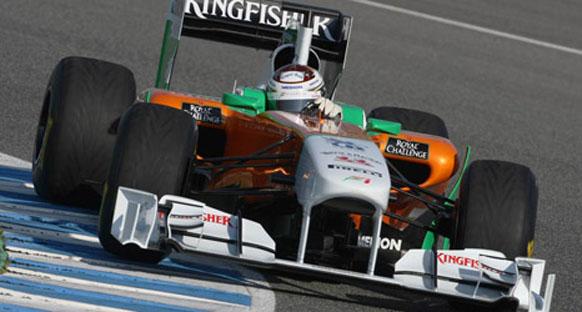 Sutil, VJM04'ün ilk sürüşünden memnun