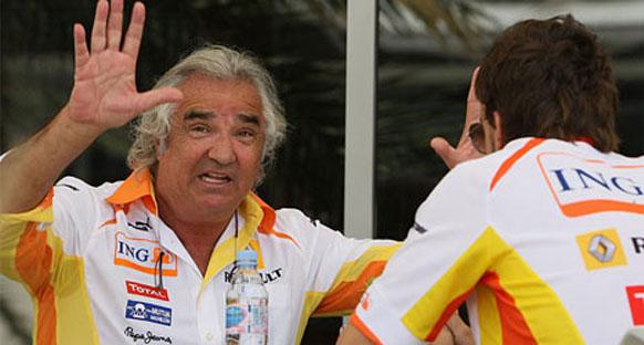 Kubica'yı ziyaret eden Briatore iyimser konuştu