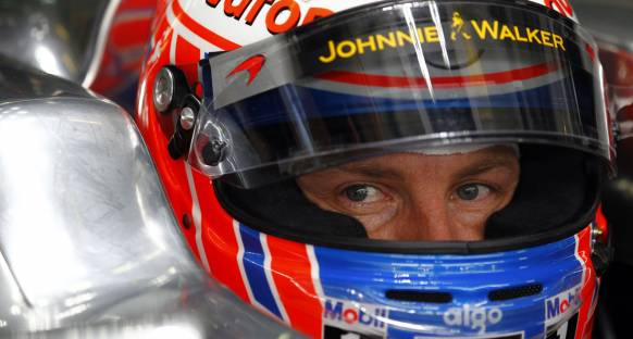Mclaren'dan Button'a destek