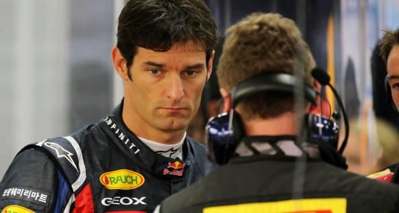 Webber birinci pilotluğu talep etmiyor