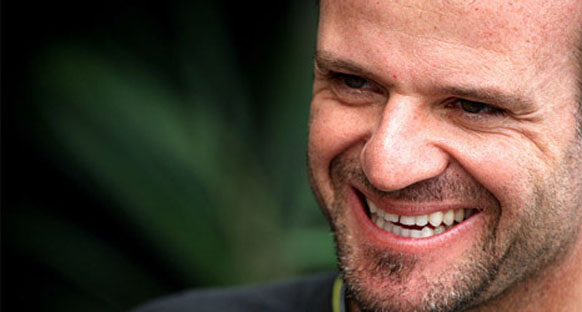 Barrichello trafikten dert yandı