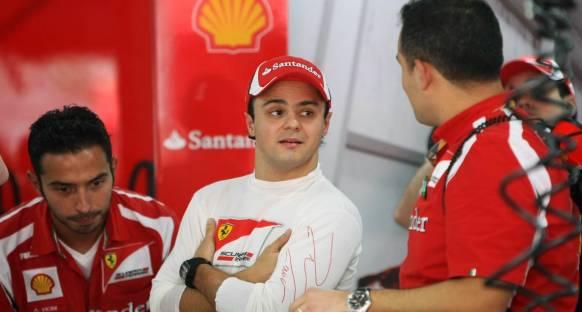 Massa: Silverstone Ferrari için gerçek bir test