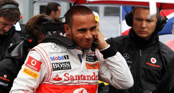 Hamilton'dan Alonso'ya cevap