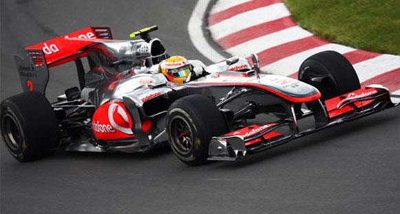 Hamilton Red Bullların pole egemenliğine Kanada'da son verdi