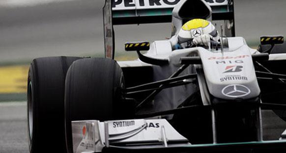 Kanada GP öncesi MercedesGP