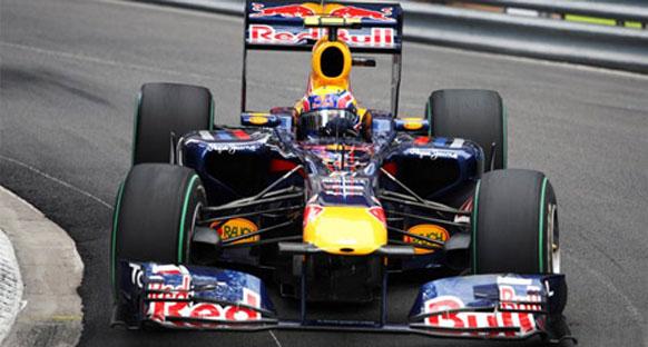 Webber Monako'da pole'e uçtu