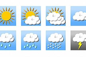Valencia'da hafta sonu hava durumu