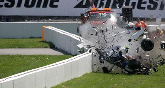 Kubica'nın Kanada'da kaza yaptığı alan daha güvenli hale getirildi
