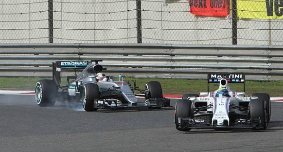 Felipe Massa yazıyor: Hamilton'ı nasıl arkamda tuttum?