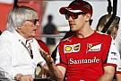 Ecclestone Ferrari'nin 2016'da şampiyonluk için savaşabileceğini umuyor