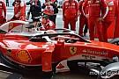 Ferrari Halo testine devam ediyor