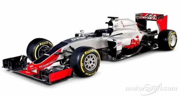 Haas yeni VF-16 ile puan hedefliyor