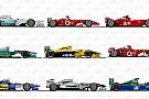 Schumacher'in kullandığı F1 araçları