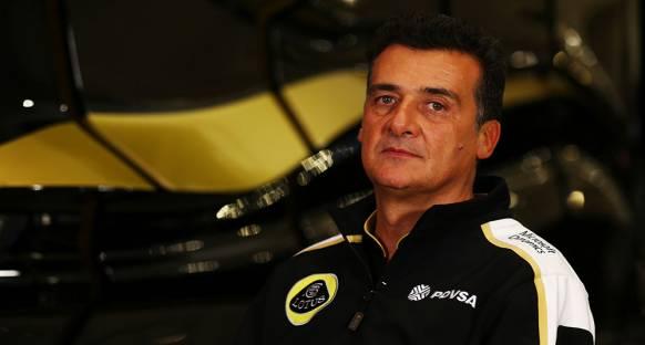 Lotus F1'in gidişatından menun değil.