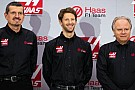 Grosjean Haas F1 ile çalışmalara başladı