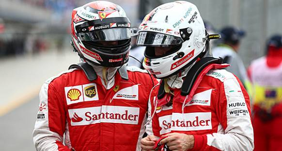 Ferrari: Raikkonen, Vettel kadar hızlı