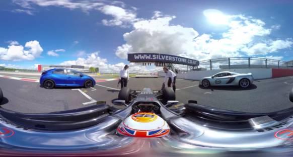 McLaren 650S ve Honda Civic, F1 aracına karşı