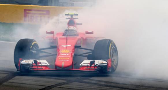 Raikkonen: 'Spinin nedeni motor haritalaması'