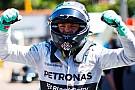 Monaco'da şans Rosberg'e güldü!