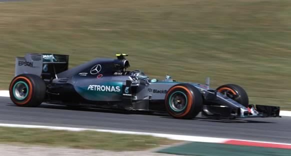 Son antrenmanların lideri Rosberg