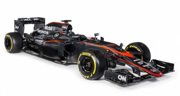 İşte yeni renkleri ile McLaren-Honda