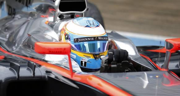 Alonso 600W'lık bir darbeye maruz kaldı