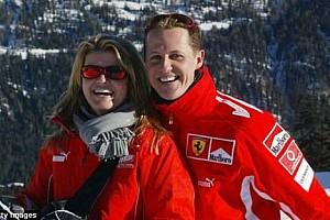 Corinna Schumacher, aylar sonra gülümserken görüntülendi