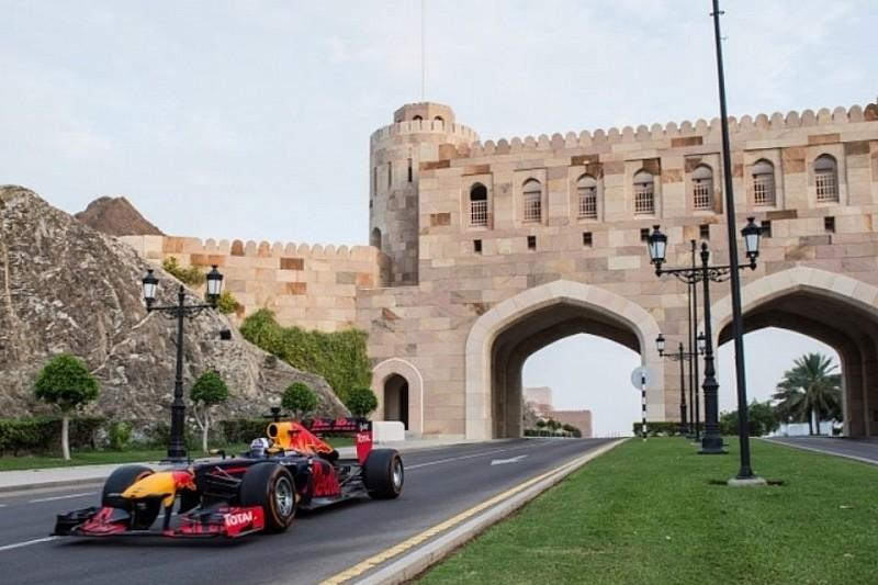 Red Bull провела демонстраційні заїзди в Омані