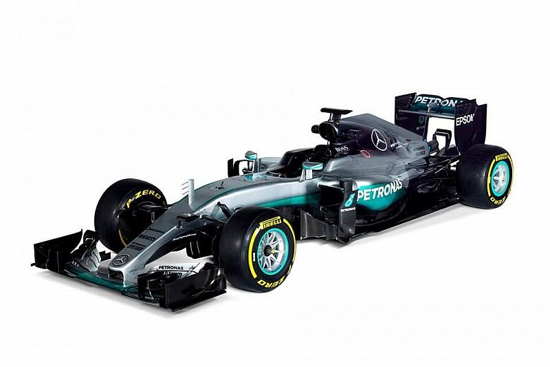Mercedes показала нове шасі W07