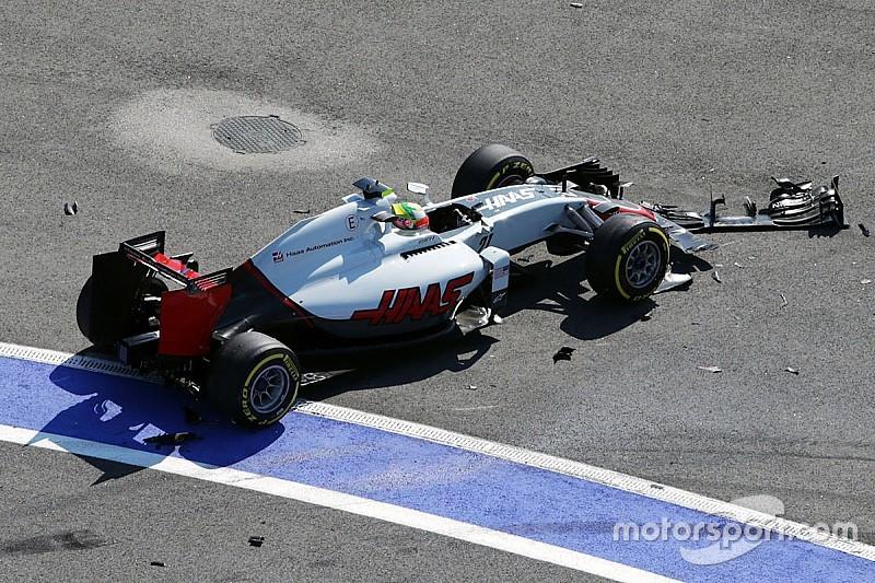 Haas defiende a Gutiérrez tras el accidente en Rusia