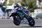 Lorenzo tevreden, Rossi flink aan het worstelen