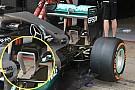 Mercedes: il monkey seat adesso è formato da tre elementi