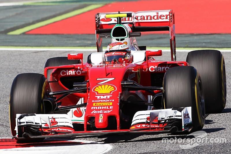 Технический брифинг: заднее антикрыло Ferrari