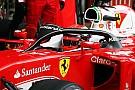 Formule 1 werkt aan nieuwe versie van Ferrari-halo