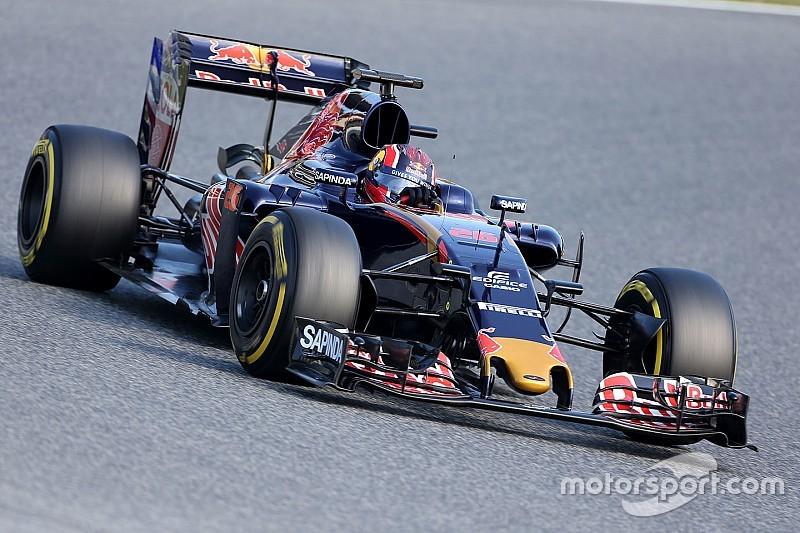 Kvyat logra 116 vueltas para familiarizarse con el Toro Rosso