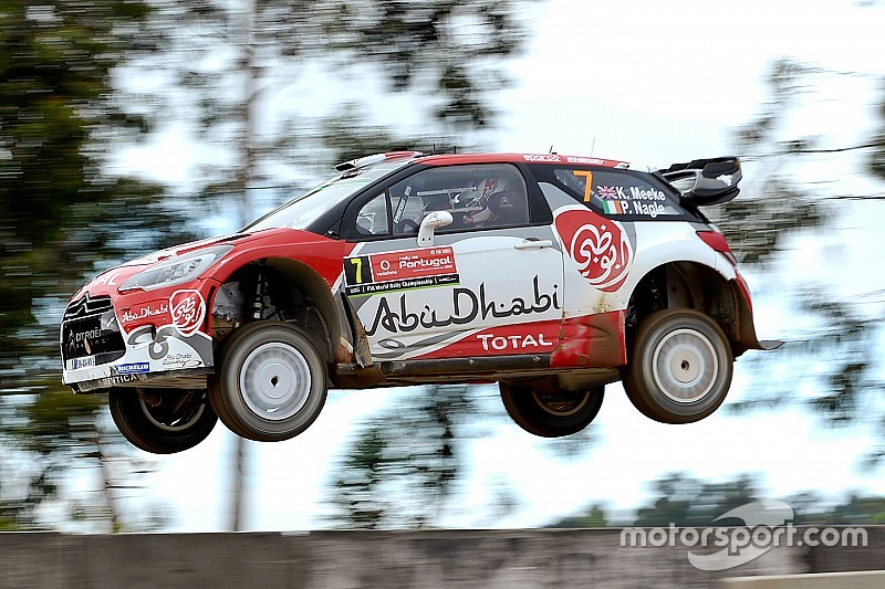 Meeke lidera sobre Ogier en el inicio del Rally de Portugal