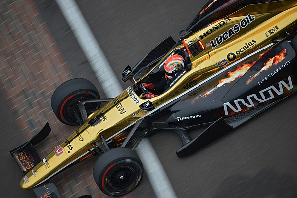 James Hinchcliffe è il più rapido nella Fast Nine di Indianapolis