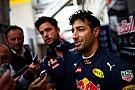 """Ricciardo: """"Wist al lang dat ik de nieuwe motor zou krijgen"""""""