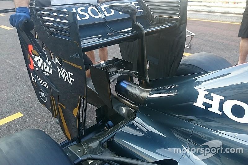 Tech update: Nieuwe monkey seat voor de McLaren MP4-31