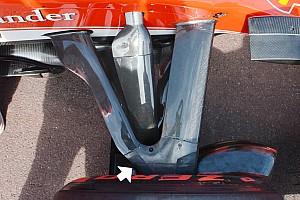 Formule 1 Analyse Technique - La suspension avant de la Ferrari SF16-H