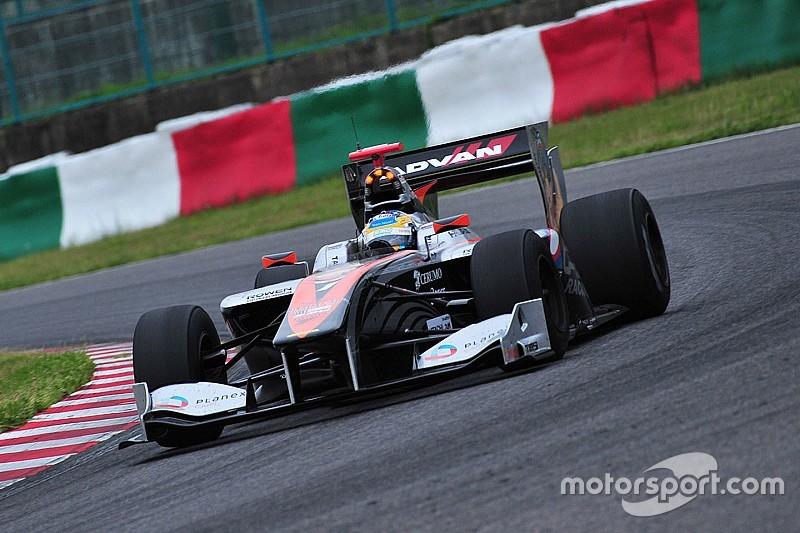 Super Formula Okayama - Vandoorne pas 17de in kwalificatie