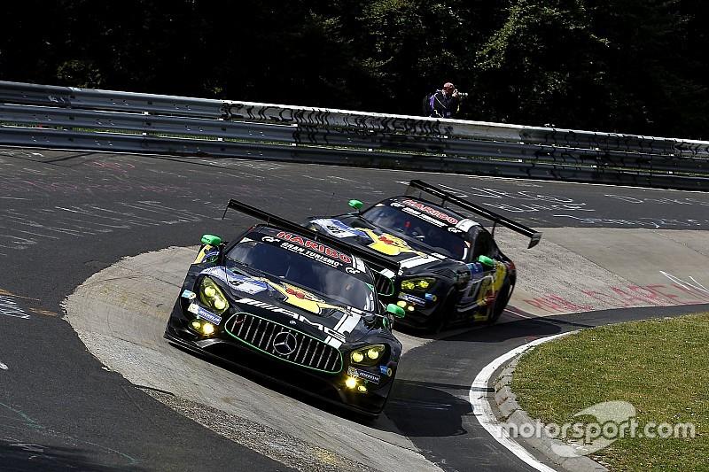 24 Ore del Nurburgring: la Mercedes approfitta dei ritiri dei rivali