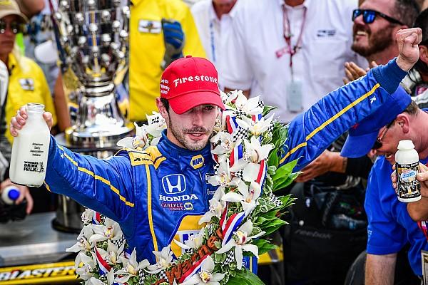 Gallery: Alexander Rossi festeggia il trionfo a sorpresa della Indy 500