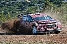 El nuevo Citroën para el WRC marcha por el camino correcto