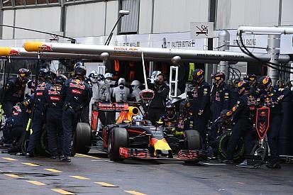 Red Bull Monaco'daki pit hatasından sonra değişiklikler yaptı