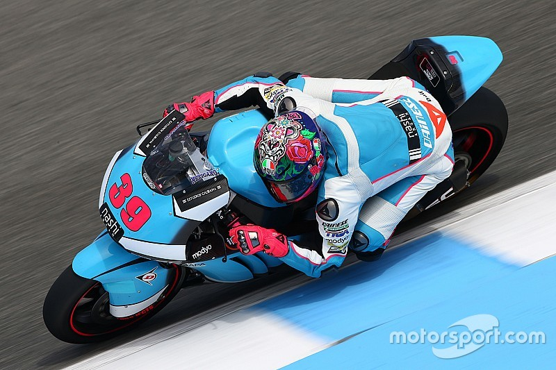 Luis Salom overleden na zware crash in Moto2
