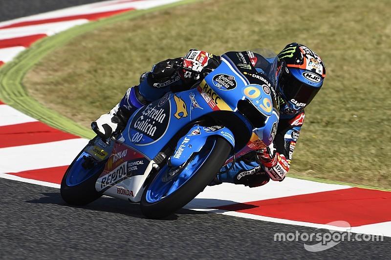 Moto3 Barcelona: Navarro snelste op nieuwe lay-out in VT3, Bendsneyder negentiende