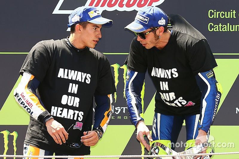 """Rossi: """"Handdruk met Marquez was het juiste om te doen"""""""